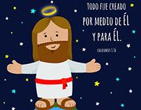Vectors Jesus