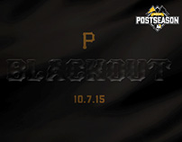 Pittsburgh Pirates Blackout Concept