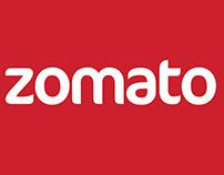 Zomato App redesign