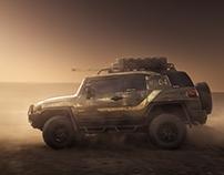 Toyota FJ Warrior | Mission Mars