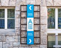 Funkturm | Leitsystem | Boarding House