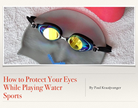 How to Protect Your Eyes While Playing Water Sports