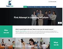Regina Pacis Website Design