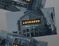 Lockheed Business Card Design