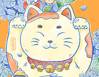 Japanese impression illustration I