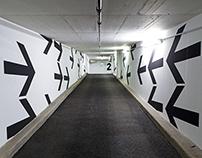Hochhaus am Park | Leitsystem Tiefgarage