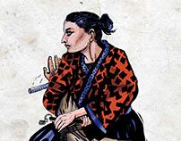Japonisme / illustrations about martial arts