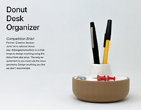 donut desk organizer