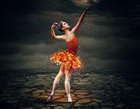 Fire Dancer - Photoshop Manipulation