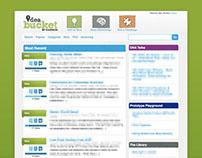 Idea Bucket Website