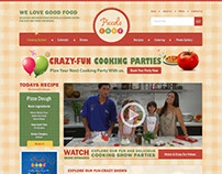 Piccolo Chef - Kids Cooking Website