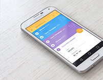 Flights App UI / Android / Material Design
