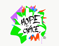 "OCTOBER 2016 - ""Hope is a Choice"""