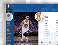 NBA teams  - Wordpress theme design