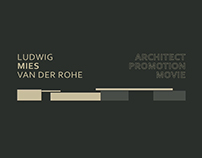 Ludwig Mies Van der rohe ; architect