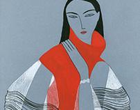 JW ANDERSON AW16/ Fashion Illustrations