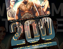 UFC 1-200 Posters VIdeo
