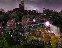 """Central Park Summer Pavilion """"XARXA PAVILION"""""""