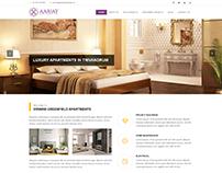Aarjay Dwellings - Landing Page