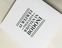 Ai Weiwei Thoughts - Booklet Design