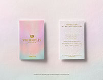2 Business Cards Mockup