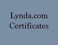 Lynda.com Certificates
