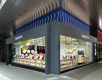 Swatch Flagship Store, China Building, HONG KONG