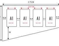TB- Rough idea of the placement & measurements.