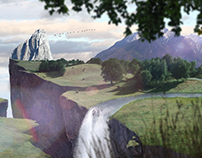 matte painting frame