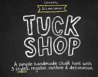 Tuck shop font