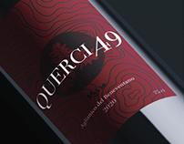 QUERCIA49 Wine label project
