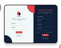 BREAKRM Sign Up Form | UI/UX Design Concept