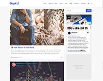 Blog Page - Beyond WordPress Theme