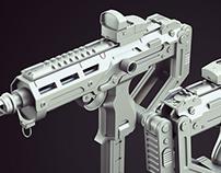Compact SMG Gun