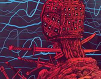 SVAVEL - Illustrations for Ordkonst 2016