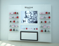 Kerastase Paris Wall Unit