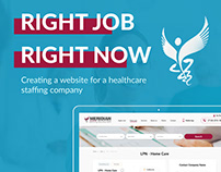 Meridiannurse.com - portal for recruiters and employees