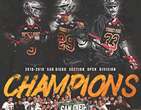 Torrey Pines Lacrosse CIF Champions