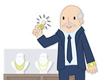Illustration d'un jeu sur les métiers