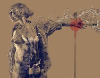 Nike di Samotracia (estudo para uma crucificação)