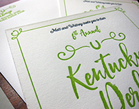 Kentucky Derby Party Invitations on Behance