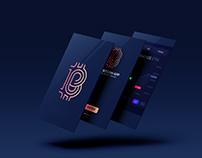THE BITCOIN APP logo design | brand identity