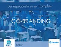 Co-branding: CCP Paraguay + Finder