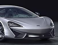 McLaren 570S Studio [Full CGI]