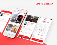 Lotte Cinema App Redesign / Duy Tai