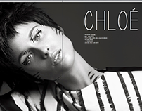 Chloe for Kaltblut mag, Anniversary Rebelious issue