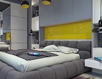 Apartment in Narimanov raion.Bedroom