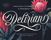 Delirian Script & Ornaments