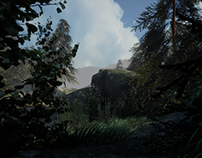 Unity5 Pine Forest (Environment art)