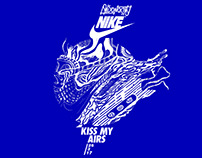 NIKE Air Max Day Live drawing by AndonastY